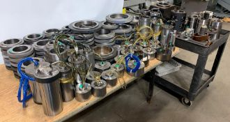"""Approx: 95 + Master Ring Gages and other assorted ring inspection tooling. Most are in the 4-7"""" rang"""