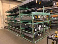 SSS Inc (Steel Storage Systems Inc) 4T-2G-36x12R-20' Roll-Out Cantilever Rack s/n 6728