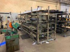 SSS Inc (Steel Storage Systems Inc) 4T-*2x20-2-20 Roll-Out Cantilever Rack Serial: 1660