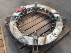 Mathey DearmanRIM Clamp,D711-3032, s/n: 2498, Reform/Pipe Welding Clamp