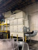 2012 Donaldson Torit WSO25-6 8,000 CFM Oil Mist Collector 30HP