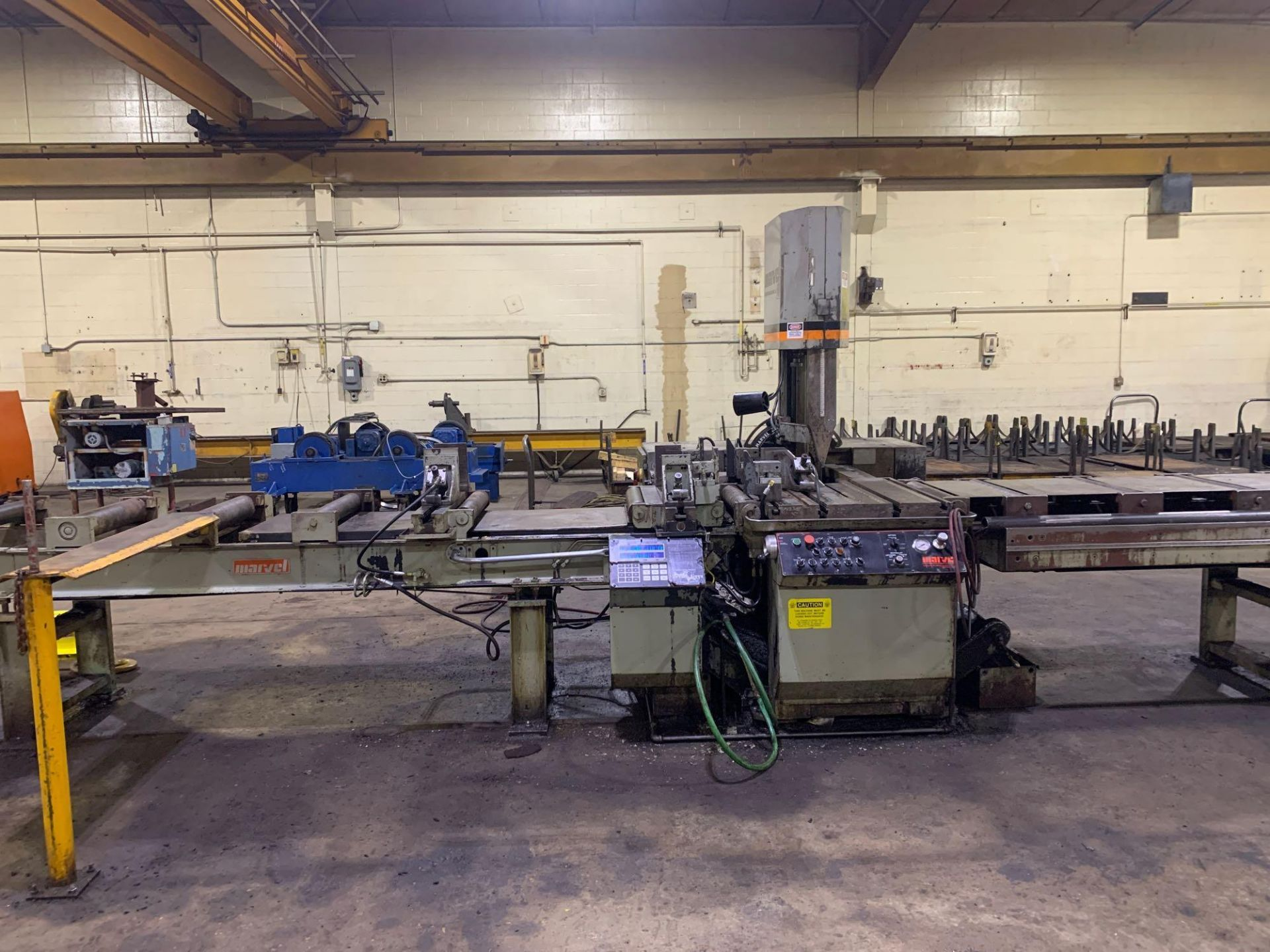 """Marvel Armstrong Blum Automatic Universal Band Saw Model 81A11PC Rated Capacity 18"""" x 20"""" Serial No. - Image 7 of 30"""