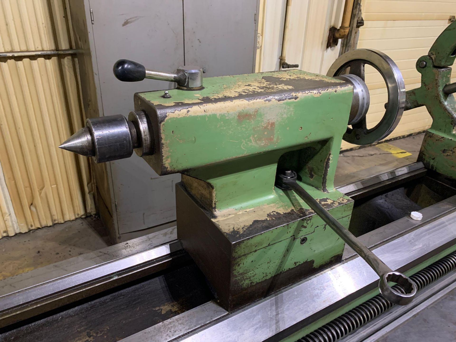 """Est Ticino Heavy Duty Gap Bed Engine Lathe Model: ETS-350 Serial Number: 1943 Rated Capacity: 27"""" x - Image 23 of 31"""