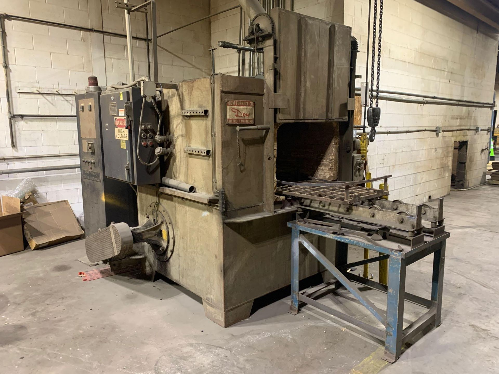 Dow Furnace Co. Electric Draw Furnace Seller States It Will Do At Least 1200 Degrees Model Bxe-24362