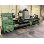 """Est Ticino Heavy Duty Gap Bed Engine Lathe Model: ETS-350 Serial Number: 1943 Rated Capacity: 27"""" x"""