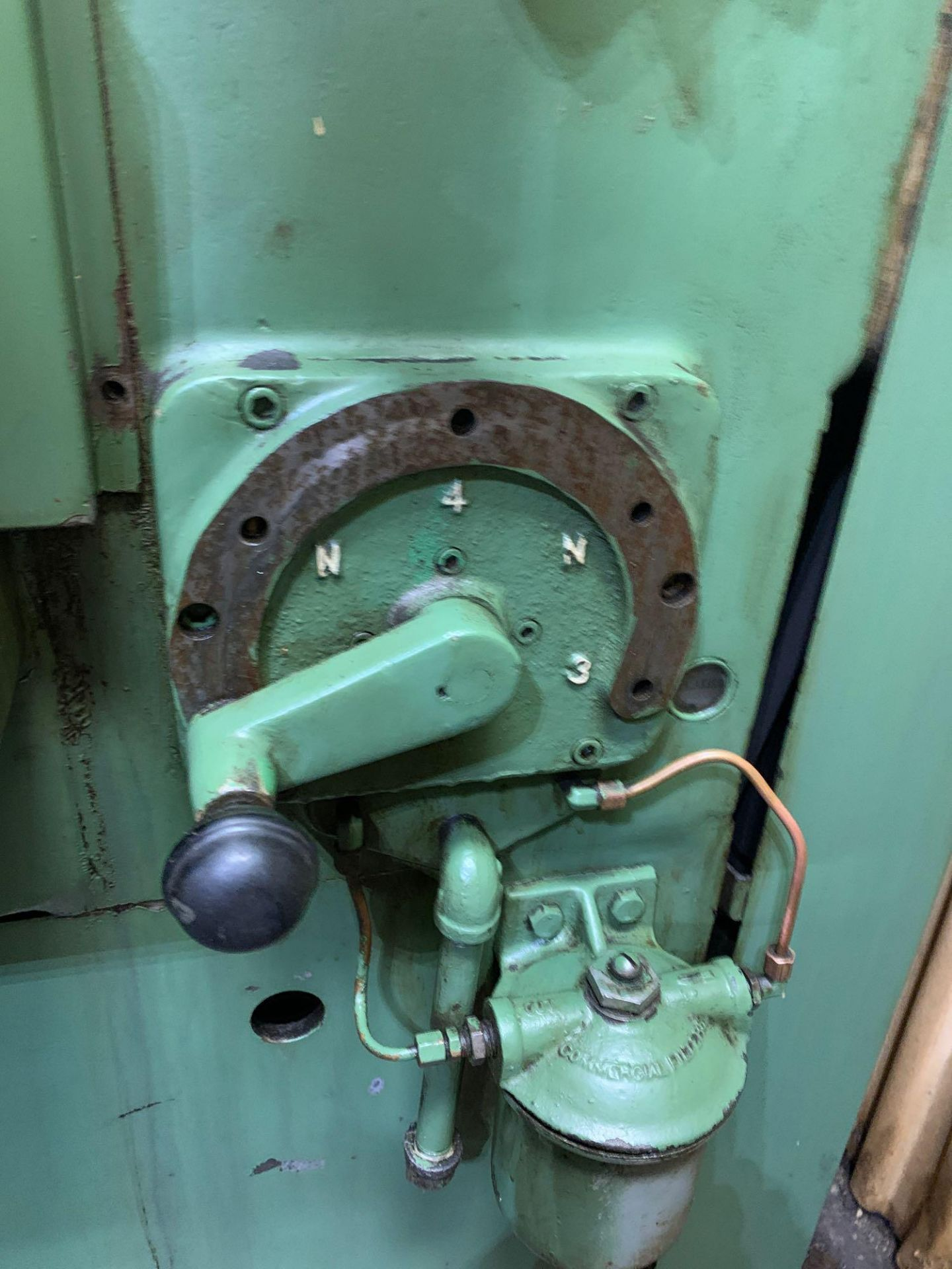 """Oliver Drill Grinder With Air Infeed Model: 600 Serial Number: 66890 Rated Capacity 1/2"""" to 3"""" Will - Image 9 of 12"""