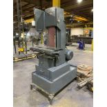 """Engelberg 8"""" Heavy Duty Belt Grinder 24-1/2"""" x 11""""T-slotted Table, 28-1/2"""" x 13"""" with coolant chann"""