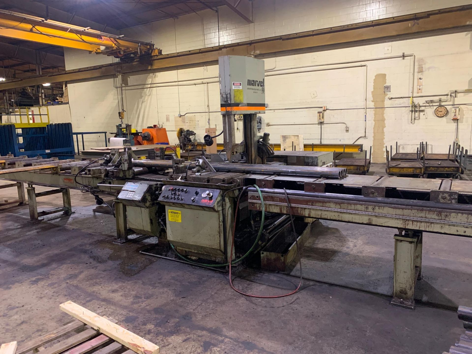 """Marvel Armstrong Blum Automatic Universal Band Saw Model 81A11PC Rated Capacity 18"""" x 20"""" Serial No. - Image 3 of 30"""