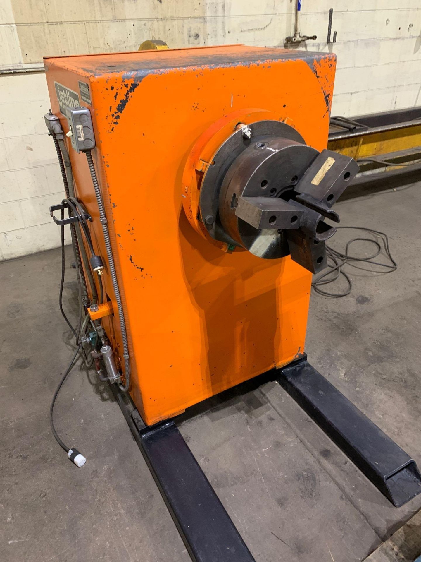 Jetline Welding Positioner Model CU5-216 Serial Number: 07625 Pipe Weld Positioner with Tail Stock I - Image 6 of 15
