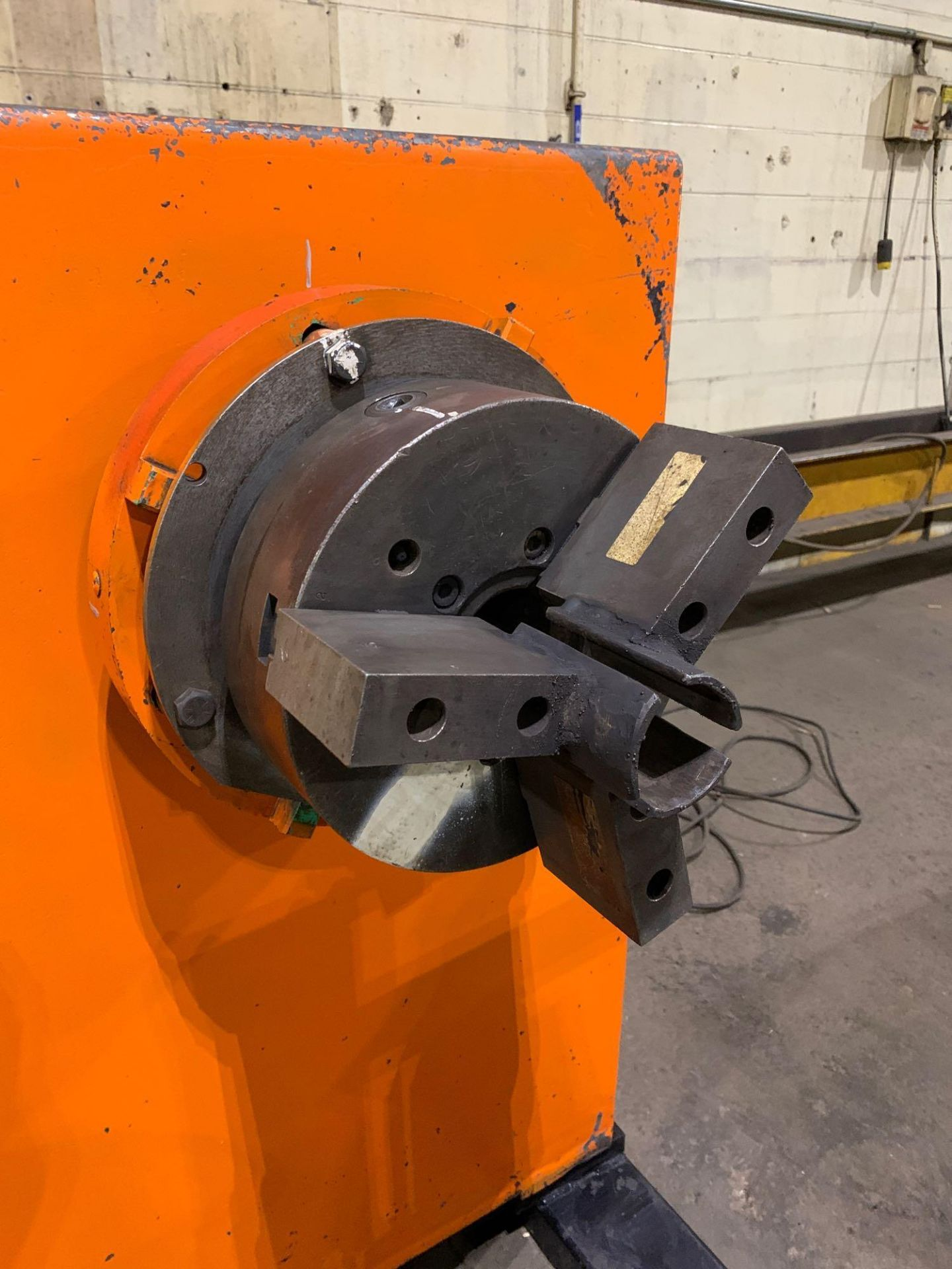 Jetline Welding Positioner Model CU5-216 Serial Number: 07625 Pipe Weld Positioner with Tail Stock I - Image 12 of 15