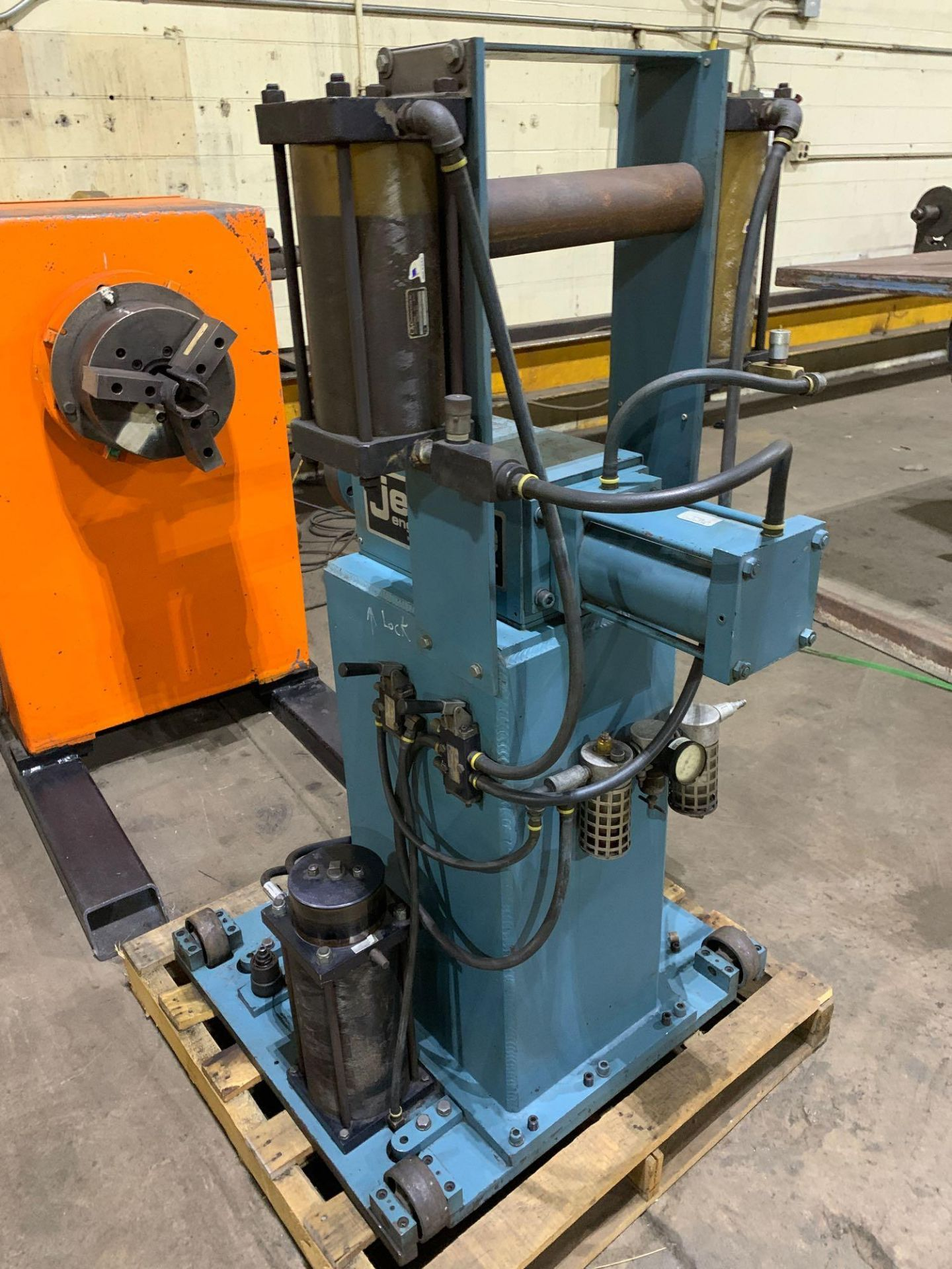 Jetline Welding Positioner Model CU5-216 Serial Number: 07625 Pipe Weld Positioner with Tail Stock I - Image 7 of 15