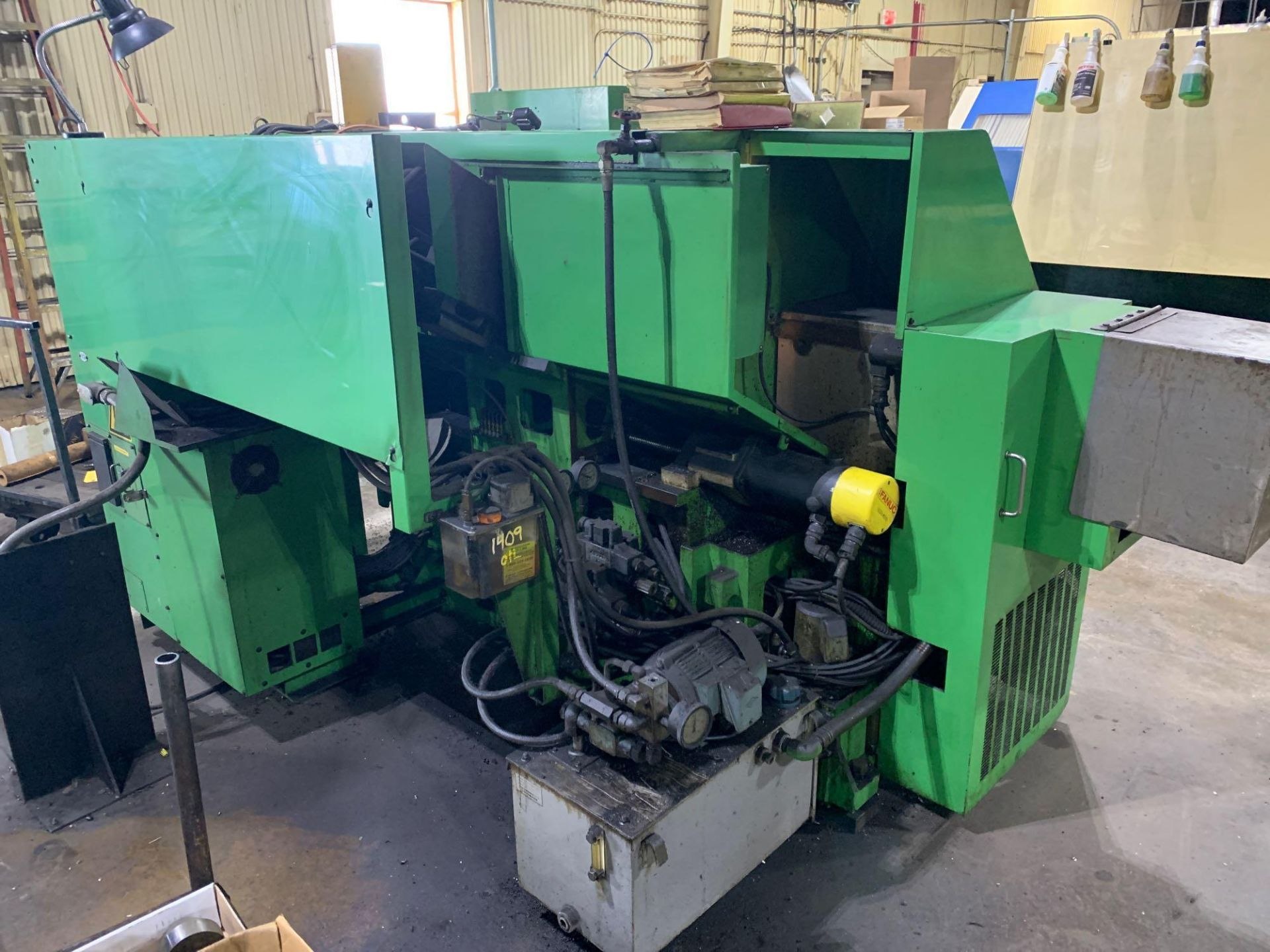 IKEGAI AX-15Z CNC Slant Bed Turning Center Serial Number: 50130V 2-Axis Machine Fanuc 10T Control 12 - Image 5 of 18
