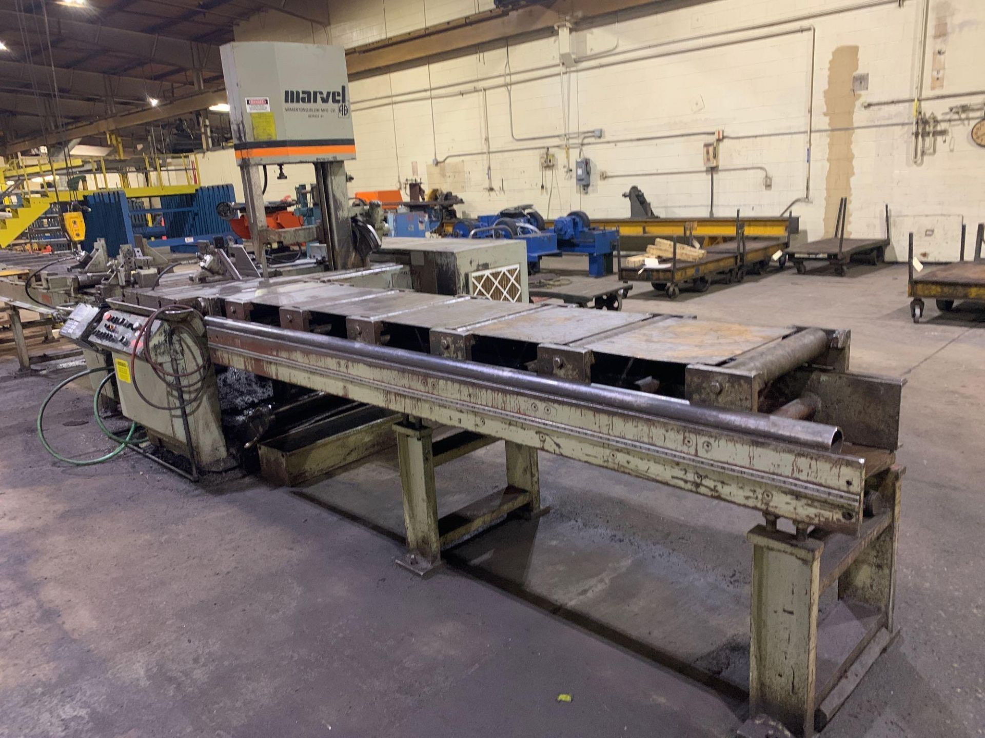 """Marvel Armstrong Blum Automatic Universal Band Saw Model 81A11PC Rated Capacity 18"""" x 20"""" Serial No. - Image 17 of 30"""