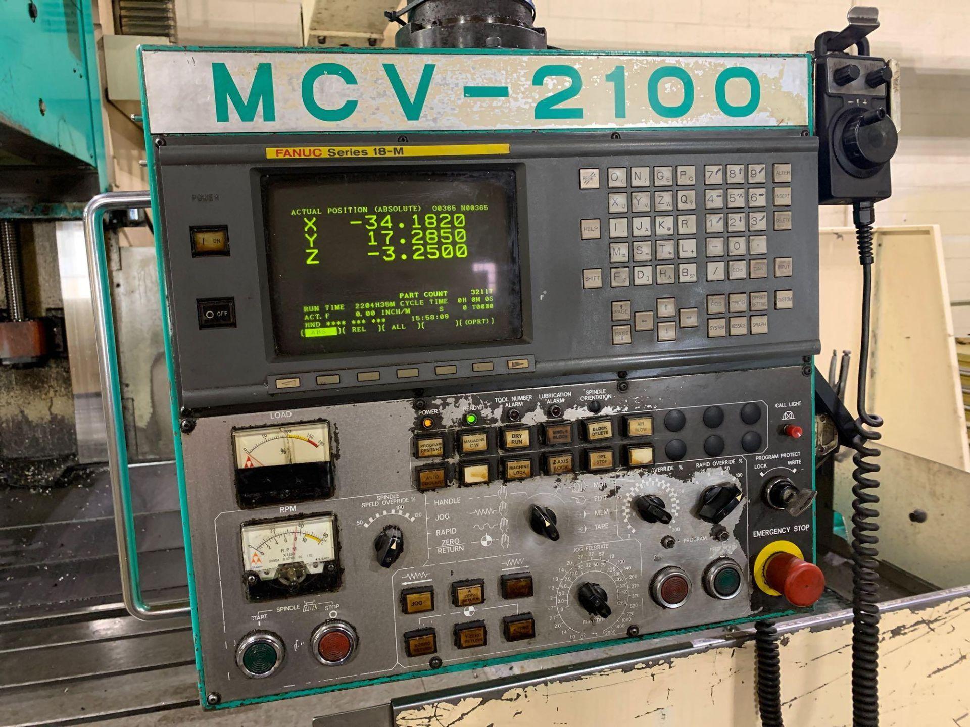 Dah-LihDL- MCV-2100 Vertical Machining Center Make: Dah-Lih Model #: DL- MCV-2100 Serial Number: 21 - Image 18 of 22