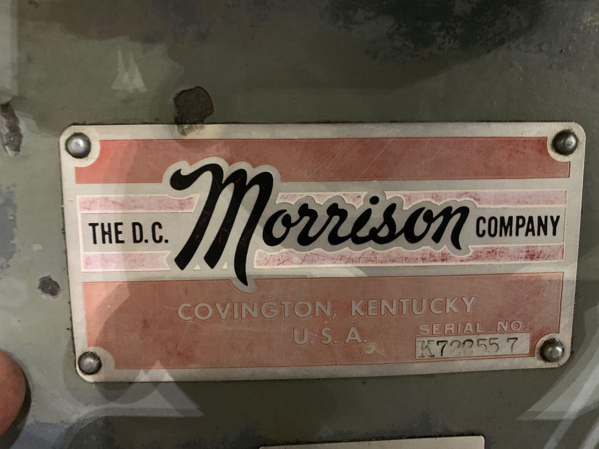 """Morrison Heavy Duty Key Seater Model: Serial Number: Cuts Keyways: 1/16"""" to 1-1/4"""" Max Length of Cut - Image 15 of 18"""