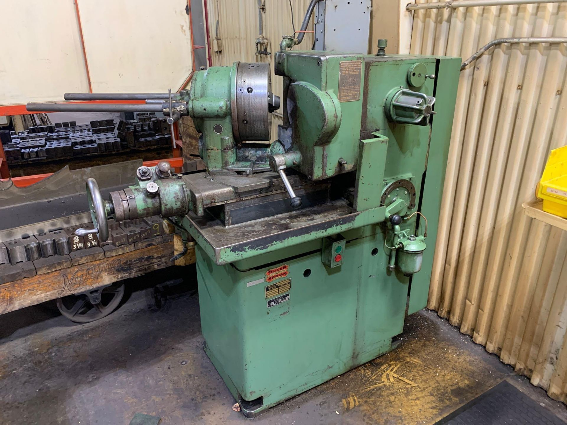 """Oliver Drill Grinder With Air Infeed Model: 600 Serial Number: 66890 Rated Capacity 1/2"""" to 3"""" Will - Image 2 of 12"""