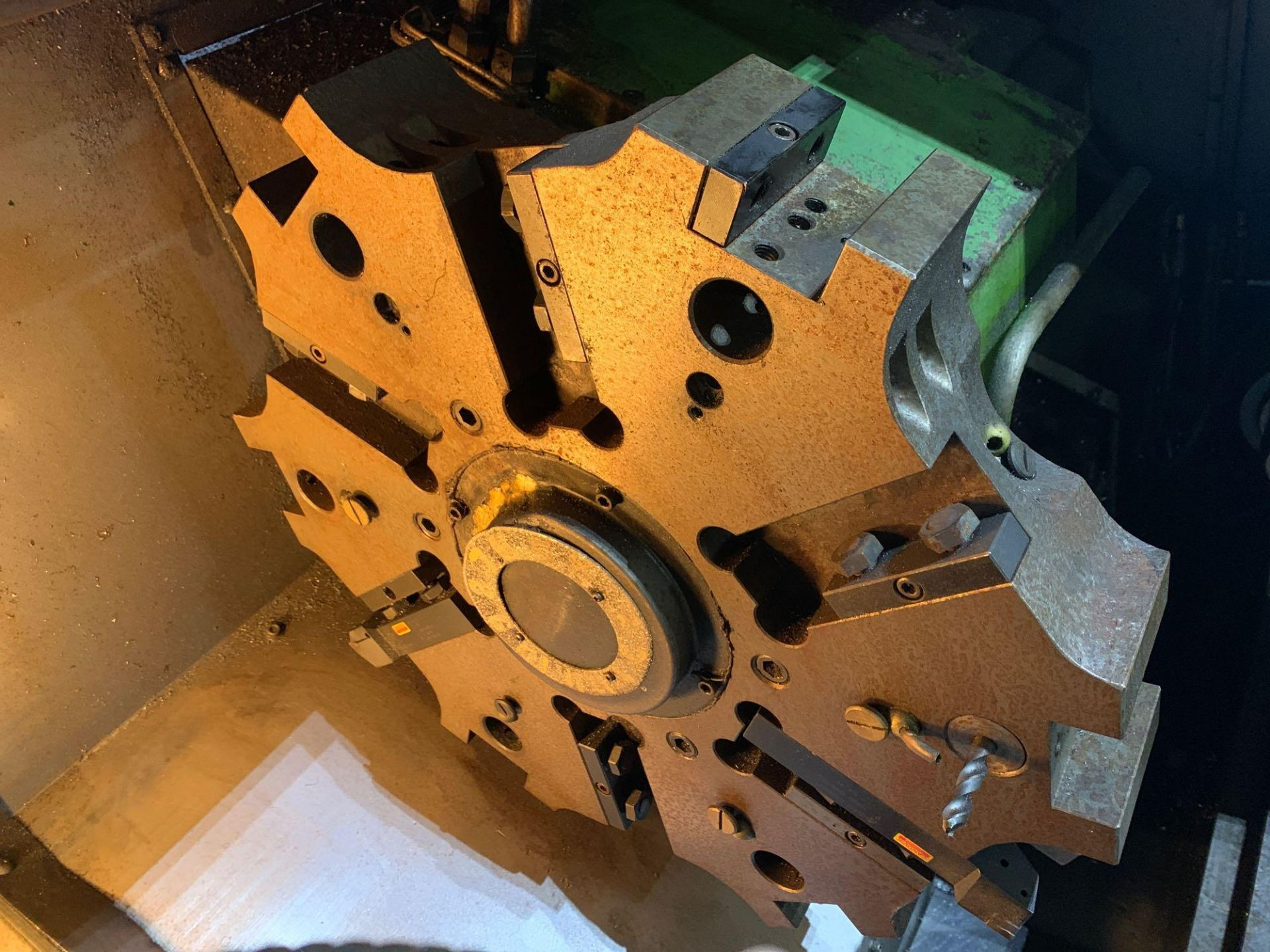 IKEGAI AX-15Z CNC Slant Bed Turning Center Serial Number: 50130V 2-Axis Machine Fanuc 10T Control 12 - Image 13 of 18