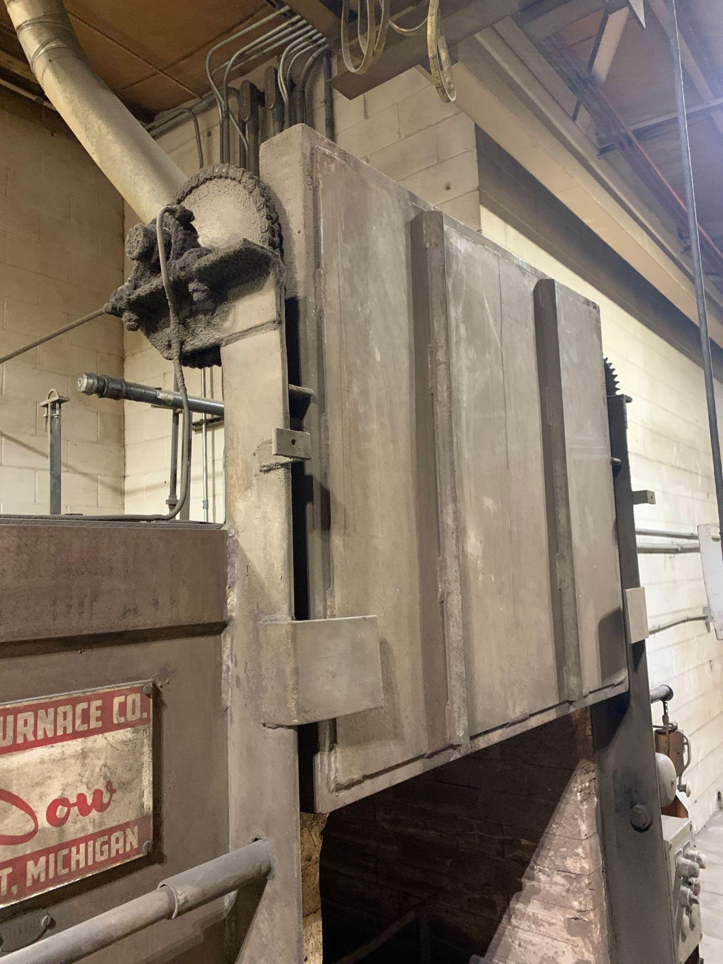 Dow Furnace Co. Electric Draw Furnace Seller States It Will Do At Least 1200 Degrees Model Bxe-24362 - Image 14 of 21