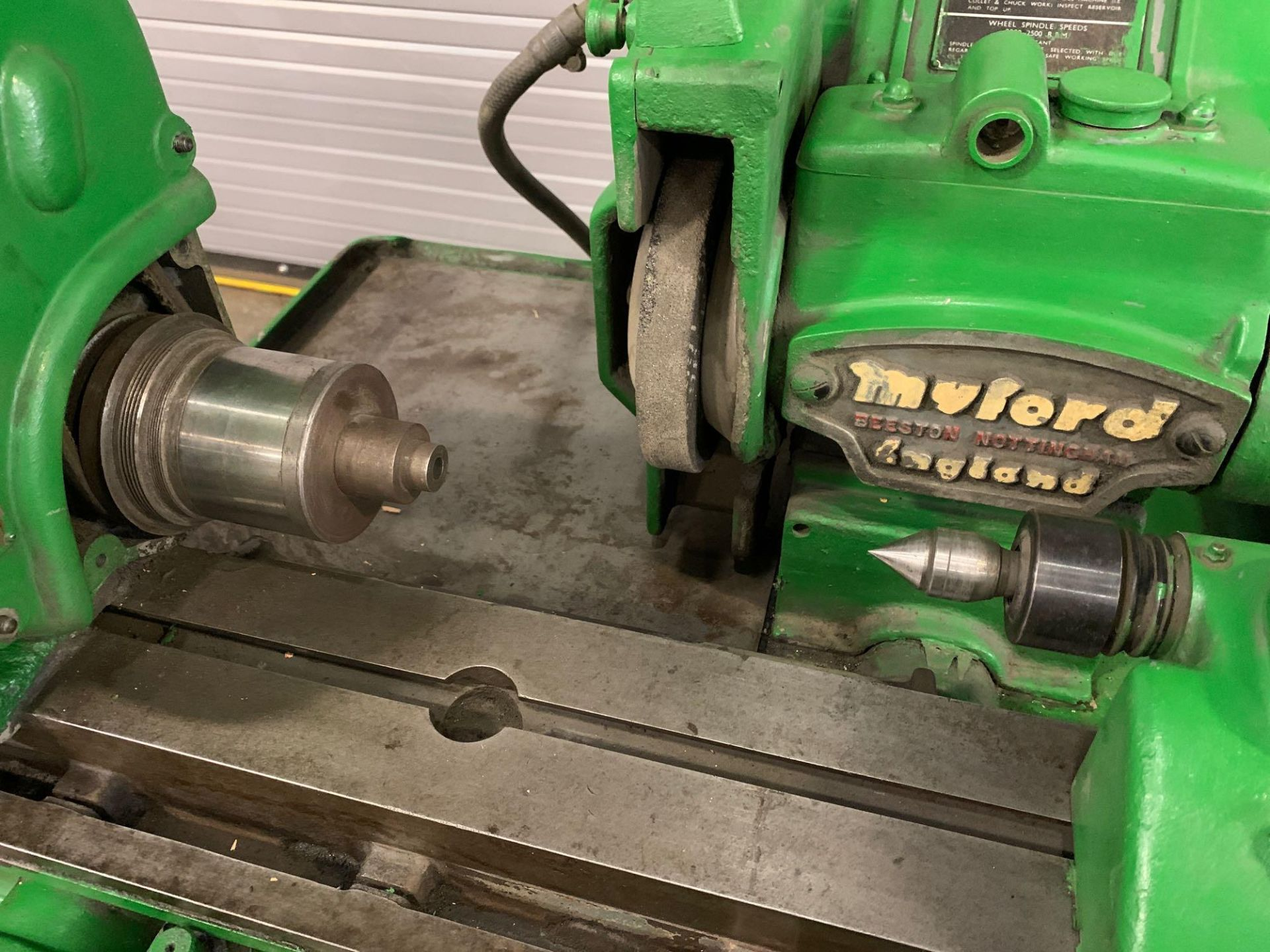 """Myford MG-12 Plain Cylindrical Grinder 5"""" x 12"""" hand feed - Image 4 of 23"""