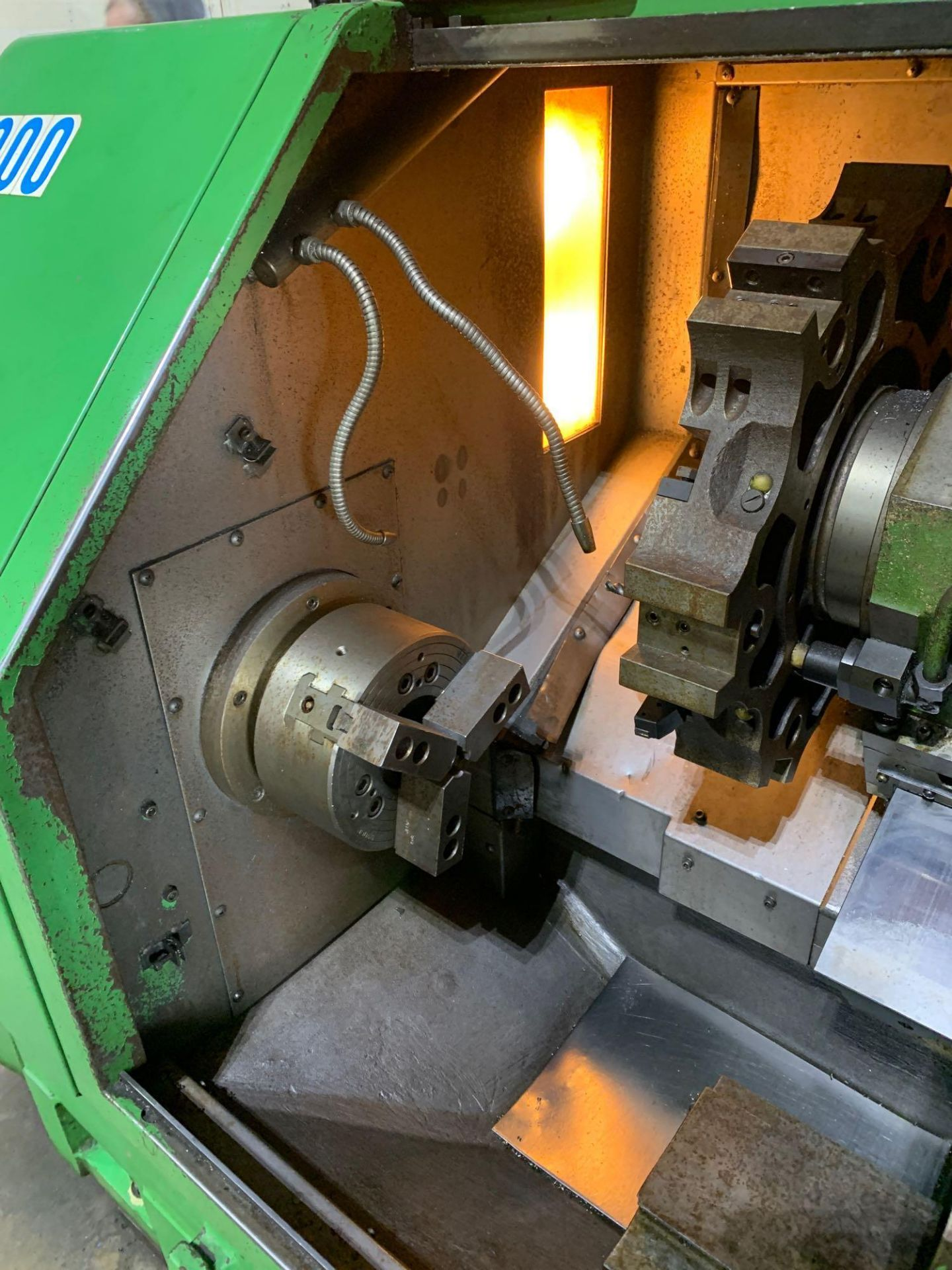 IKEGAI AX-15Z CNC Slant Bed Turning Center Serial Number: 50130V 2-Axis Machine Fanuc 10T Control 12 - Image 10 of 18