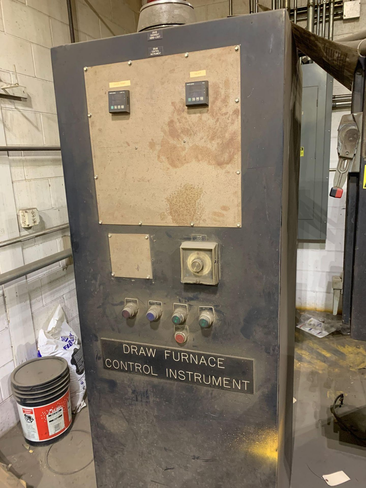 Dow Furnace Co. Electric Draw Furnace Seller States It Will Do At Least 1200 Degrees Model Bxe-24362 - Image 6 of 21