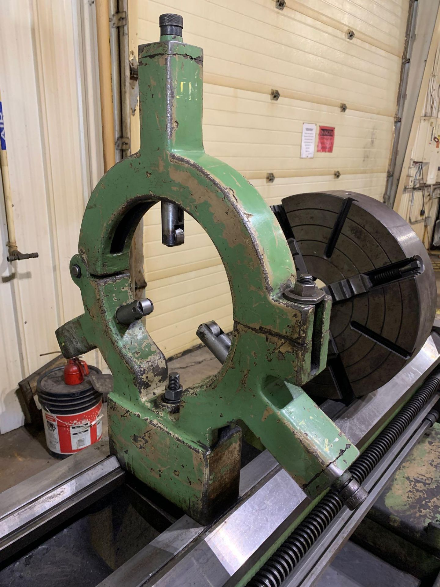 """Est Ticino Heavy Duty Gap Bed Engine Lathe Model: ETS-350 Serial Number: 1943 Rated Capacity: 27"""" x - Image 25 of 31"""