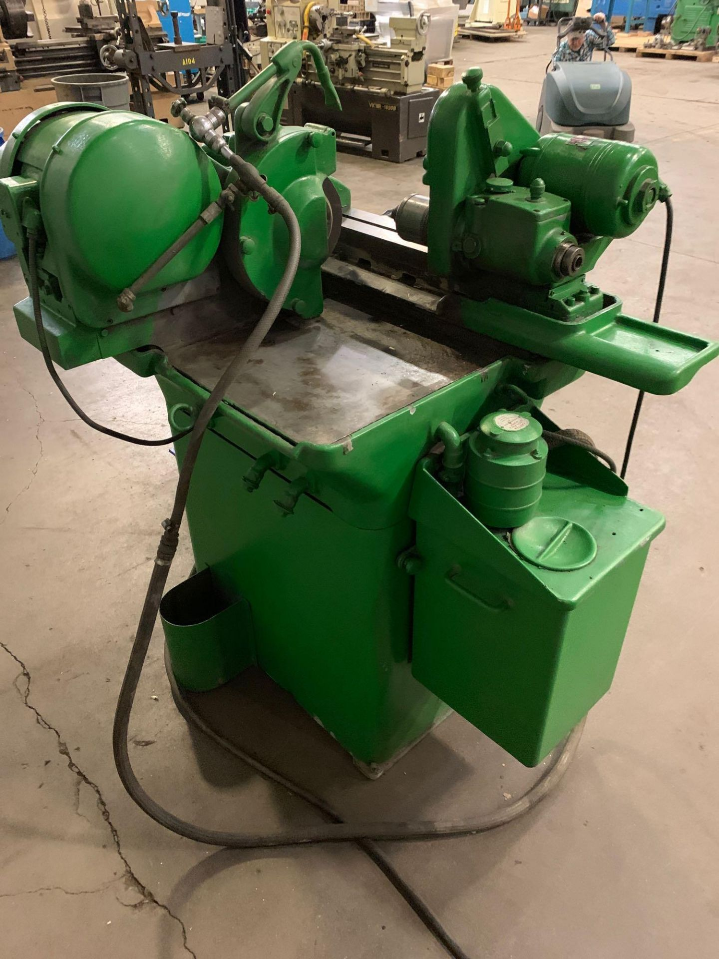 """Myford MG-12 Plain Cylindrical Grinder 5"""" x 12"""" hand feed - Image 9 of 23"""