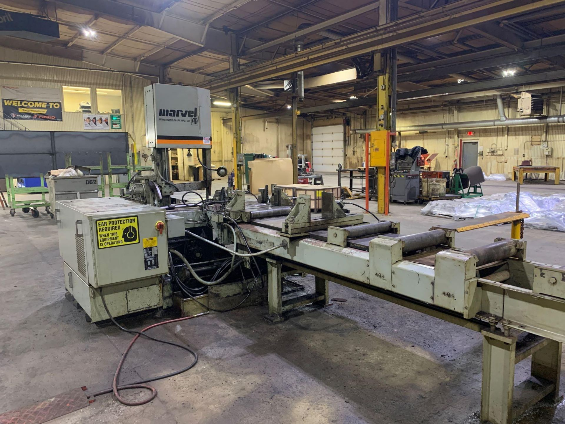 """Marvel Armstrong Blum Automatic Universal Band Saw Model 81A11PC Rated Capacity 18"""" x 20"""" Serial No. - Image 11 of 30"""