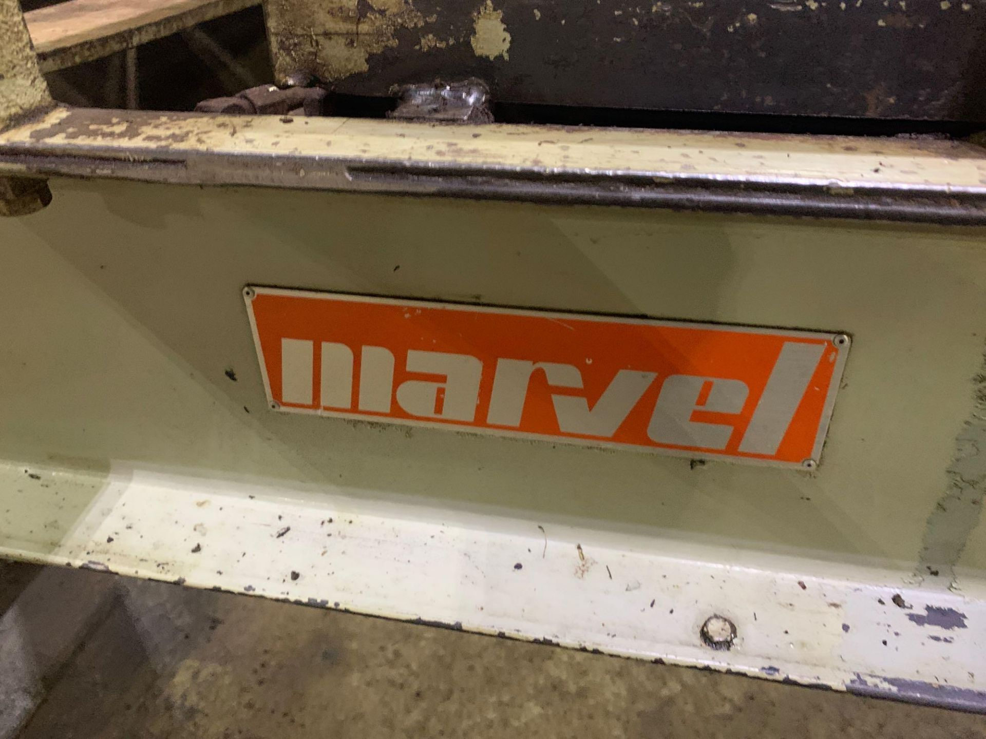 """Marvel Armstrong Blum Automatic Universal Band Saw Model 81A11PC Rated Capacity 18"""" x 20"""" Serial No. - Image 26 of 30"""