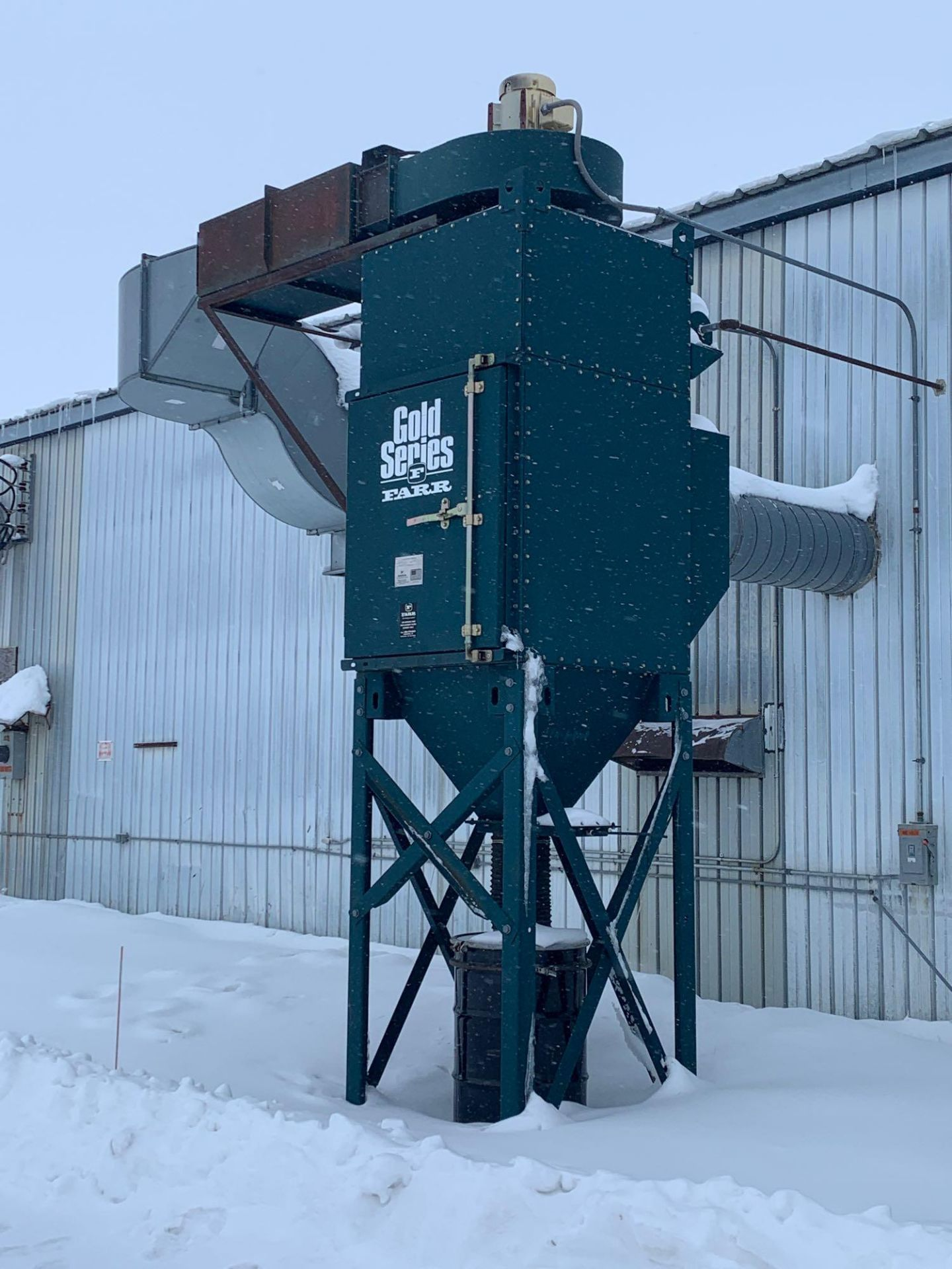Farr Dust Collector Model GS-4 Serial Number: 836598 Part Number: 212834FAN