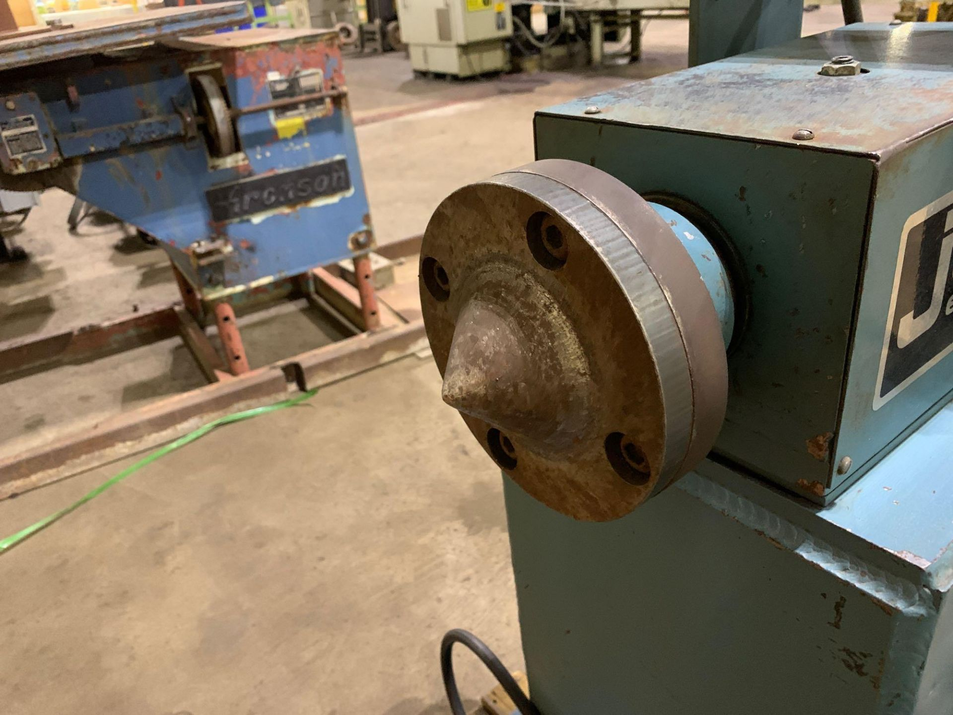 Jetline Welding Positioner Model CU5-216 Serial Number: 07625 Pipe Weld Positioner with Tail Stock I - Image 11 of 15