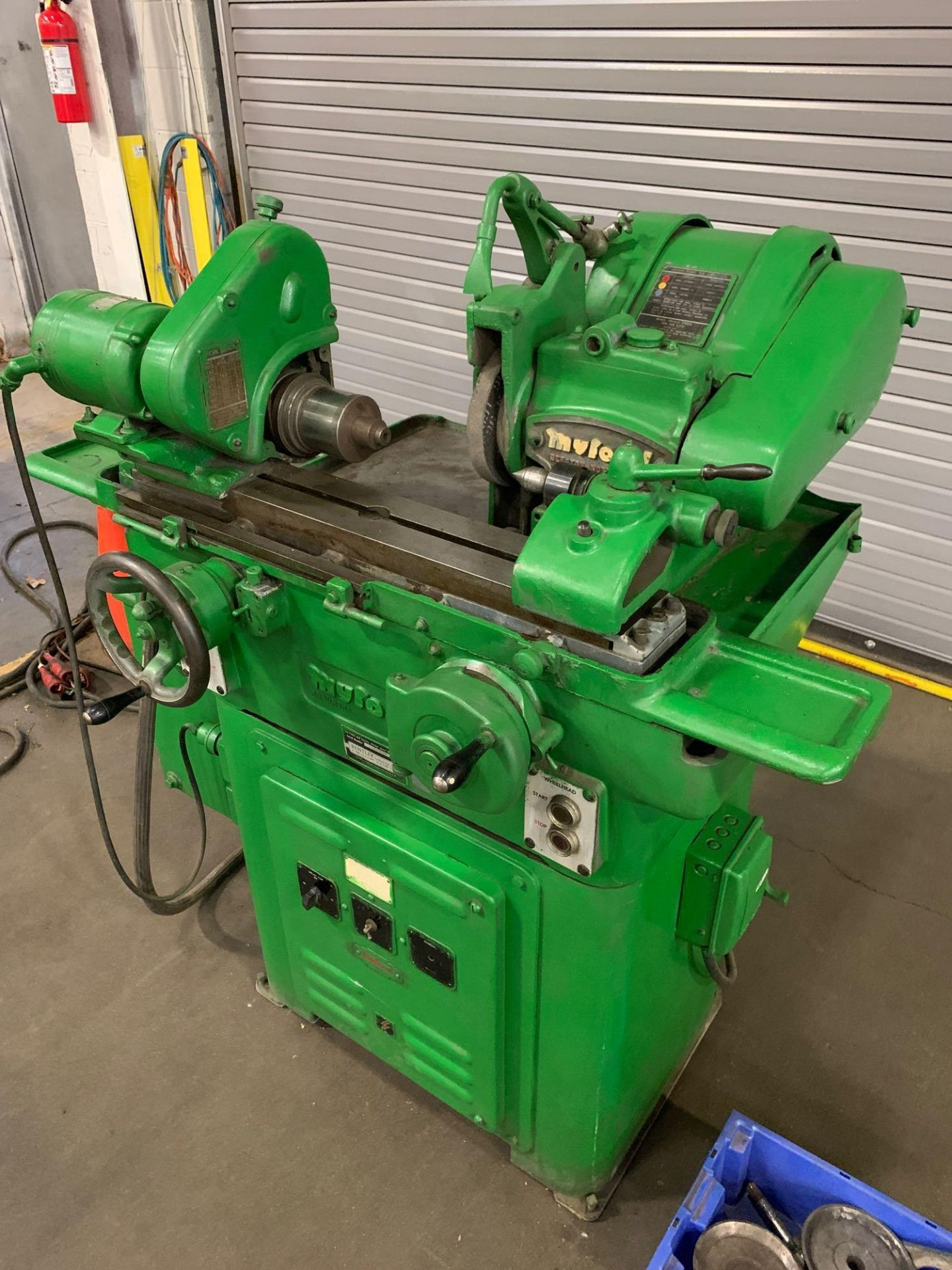 """Myford MG-12 Plain Cylindrical Grinder 5"""" x 12"""" hand feed - Image 3 of 23"""