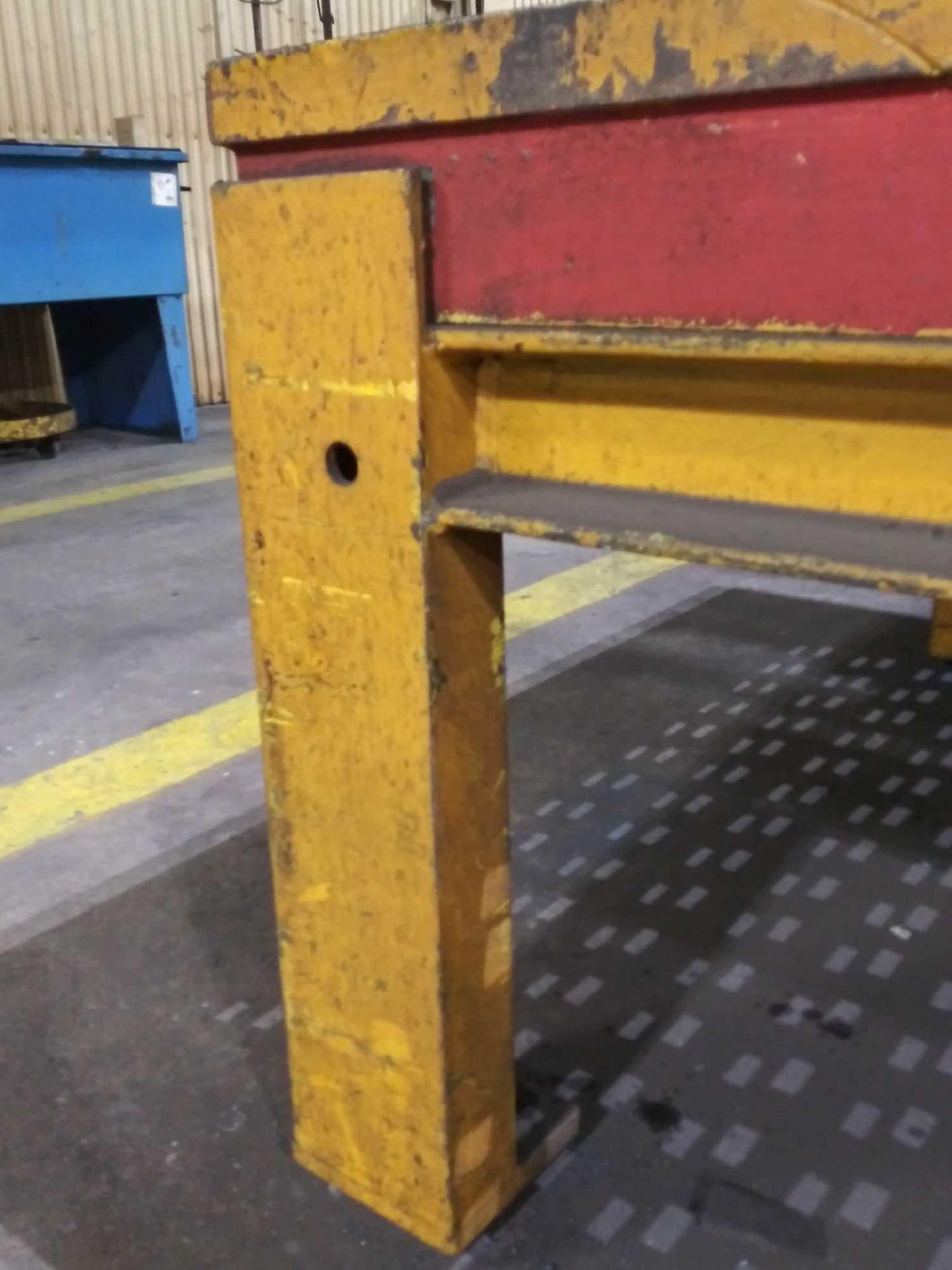 """Acorn Platens & Tools Welding Table, 60""""x60""""x30"""", square hole dimensions 1-3/4"""", inv1080 - Image 10 of 15"""