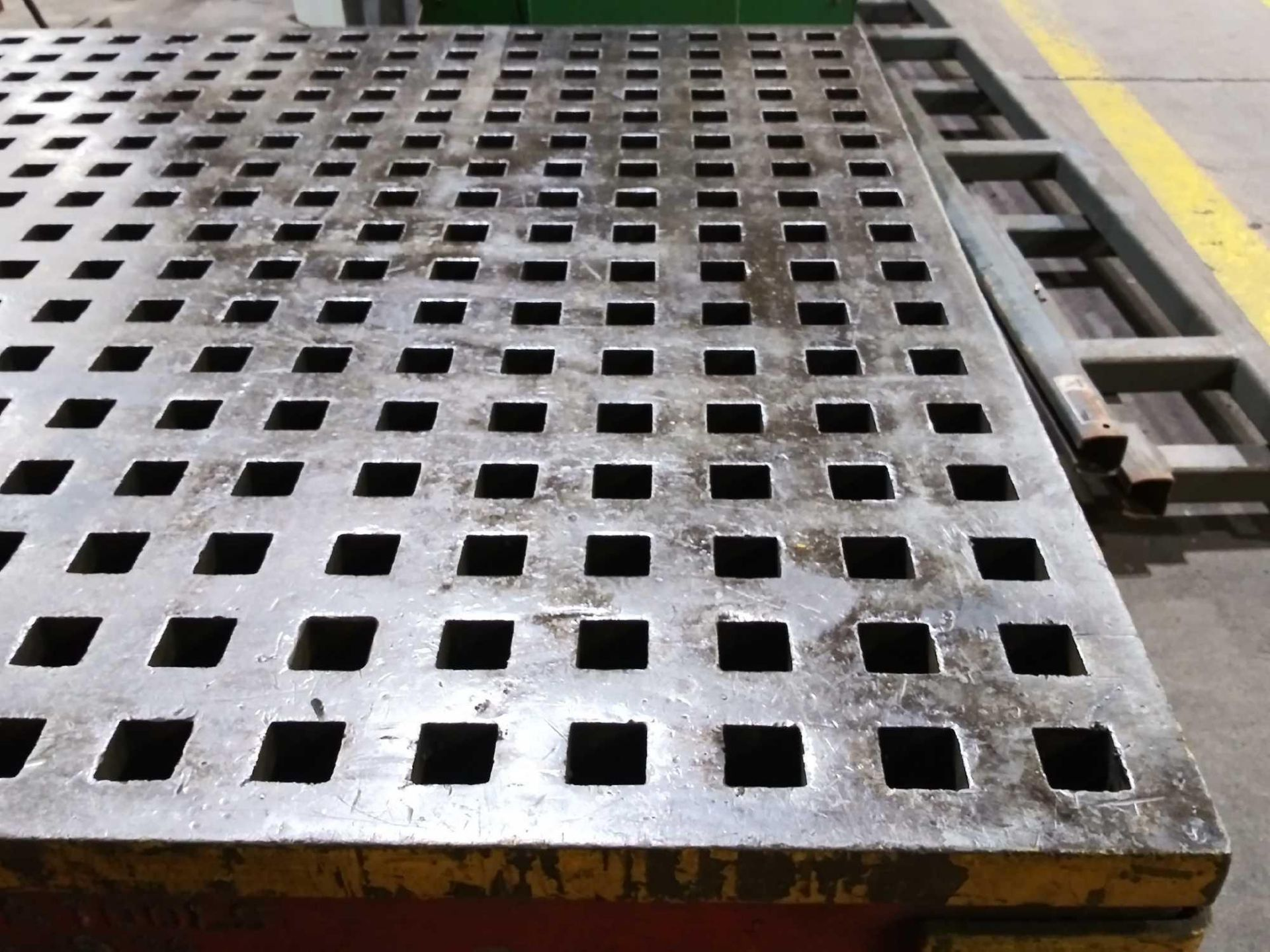 """Acorn Platens & Tools Welding Table, 60""""x60""""x30"""", square hole dimensions 1-3/4"""", inv1080 - Image 9 of 15"""