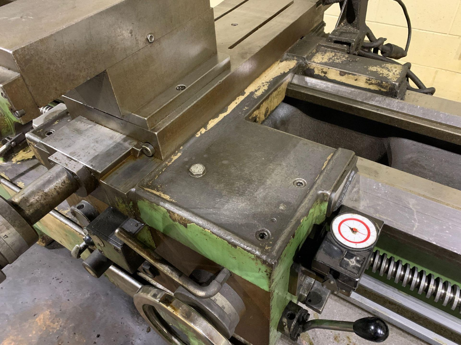 """Est Ticino Heavy Duty Gap Bed Engine Lathe Model: ETS-350 Serial Number: 1943 Rated Capacity: 27"""" x - Image 14 of 31"""