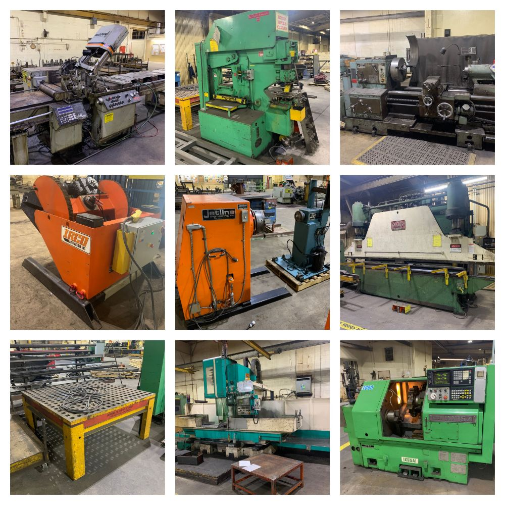 Minnesota Plant Closing Due to Consolidation. Fab, Welding, CNC & Manual Machinery, tooling, inspection and more.