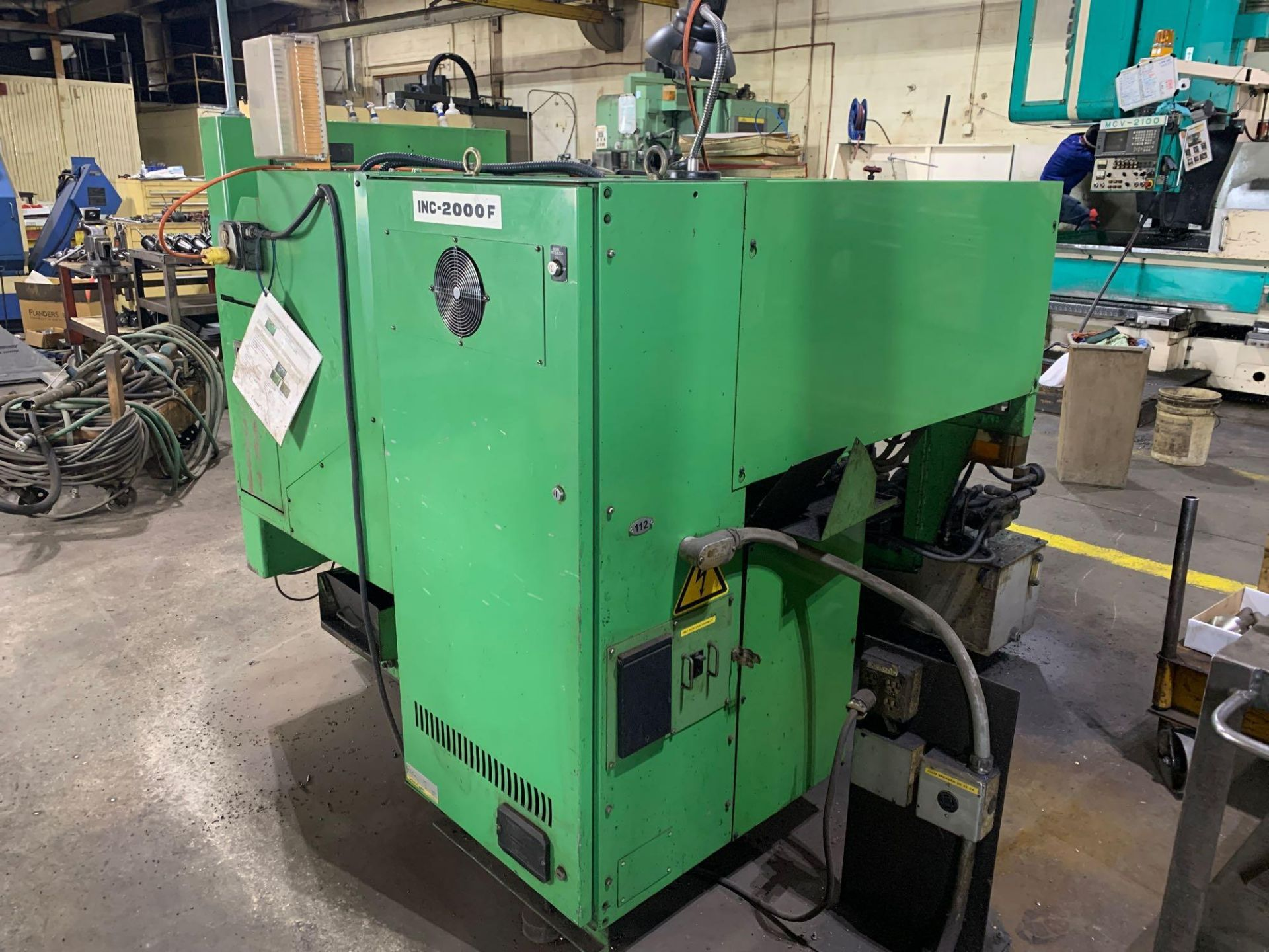 IKEGAI AX-15Z CNC Slant Bed Turning Center Serial Number: 50130V 2-Axis Machine Fanuc 10T Control 12 - Image 6 of 18