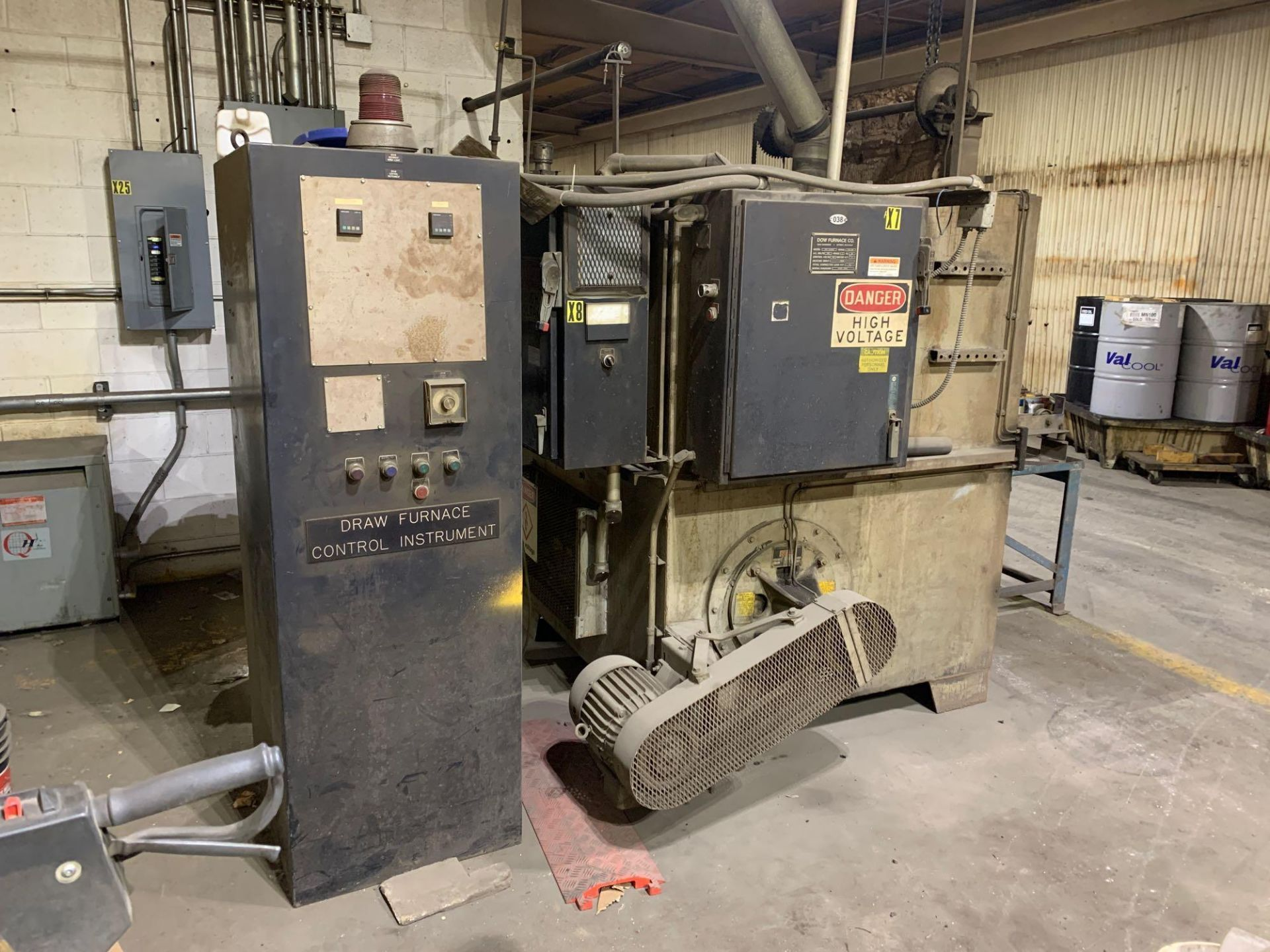Dow Furnace Co. Electric Draw Furnace Seller States It Will Do At Least 1200 Degrees Model Bxe-24362 - Image 4 of 21