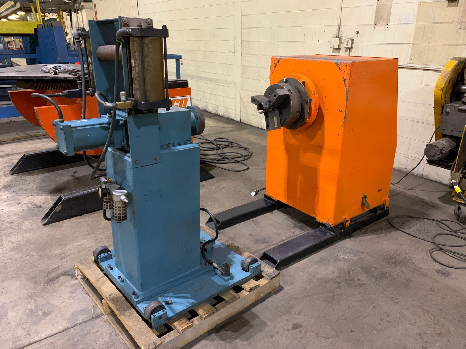 Jetline Welding Positioner Model CU5-216 Serial Number: 07625 Pipe Weld Positioner with Tail Stock I - Image 2 of 15