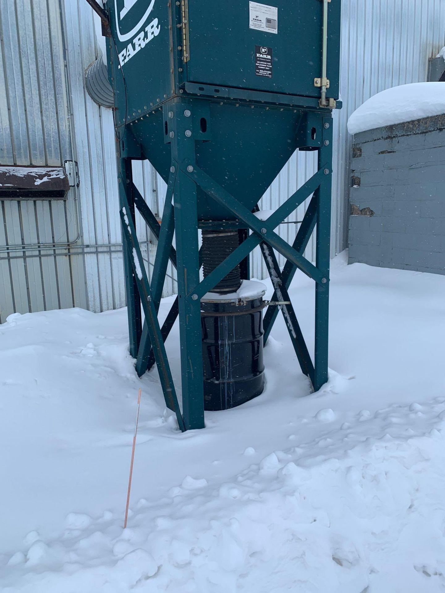 Farr Dust Collector Model GS-4 Serial Number: 836598 Part Number: 212834FAN - Image 4 of 10