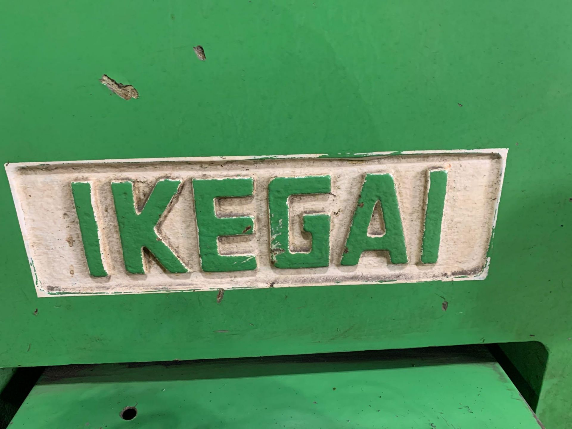 IKEGAI AX-15Z CNC Slant Bed Turning Center Serial Number: 50130V 2-Axis Machine Fanuc 10T Control 12 - Image 15 of 18