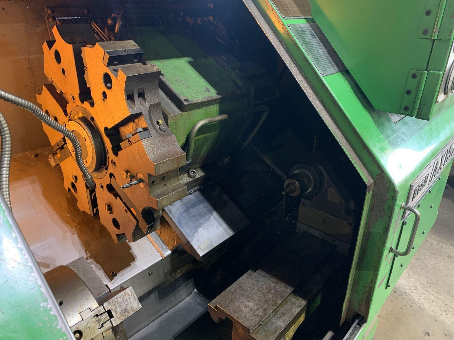 IKEGAI AX-15Z CNC Slant Bed Turning Center Serial Number: 50130V 2-Axis Machine Fanuc 10T Control 12 - Image 11 of 18