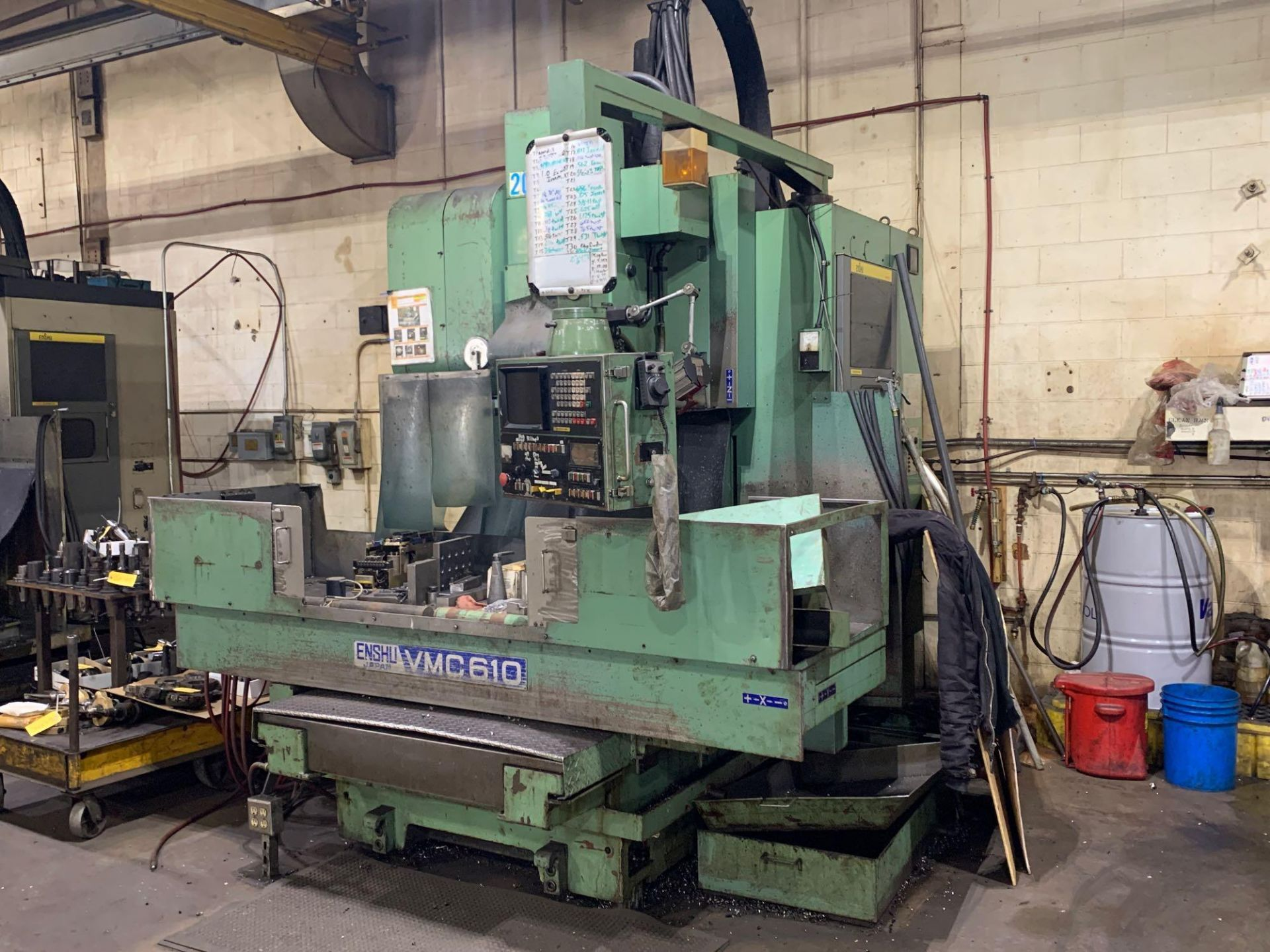 ENSHU VMC 610 CNC Vertical Machining Center Model: VMC 610 Serial Number: 145 Number of Pockets Maga - Image 2 of 6