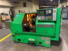 IKEGAI AX-15Z CNC Slant Bed Turning Center Serial Number: 50130V 2-Axis Machine Fanuc 10T Control 12