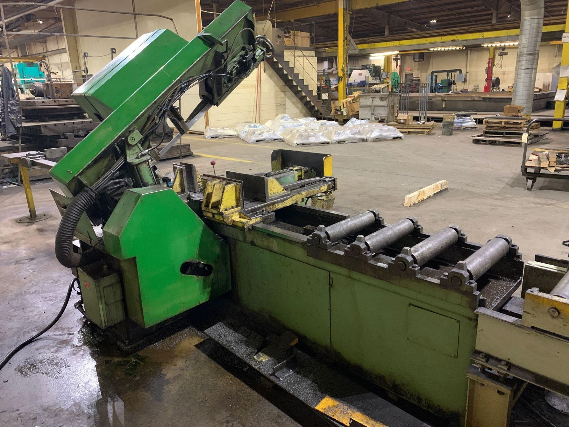 DoAllSemi-Automatic Horizontal Band Saw Model: C-1213a s/n: 412-84212 made in the usa capacity: rec - Image 13 of 16