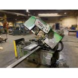 DoAll Semi-Automatic Horizontal Band Saw Model: C-1213a s/n: 412-84212 made in the usa capacity: rec