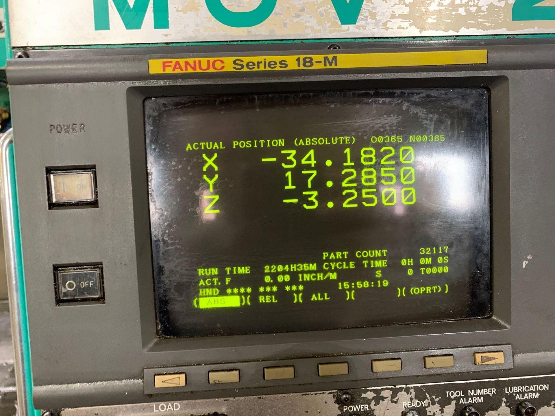 Dah-LihDL- MCV-2100 Vertical Machining Center Make: Dah-Lih Model #: DL- MCV-2100 Serial Number: 21 - Image 20 of 22