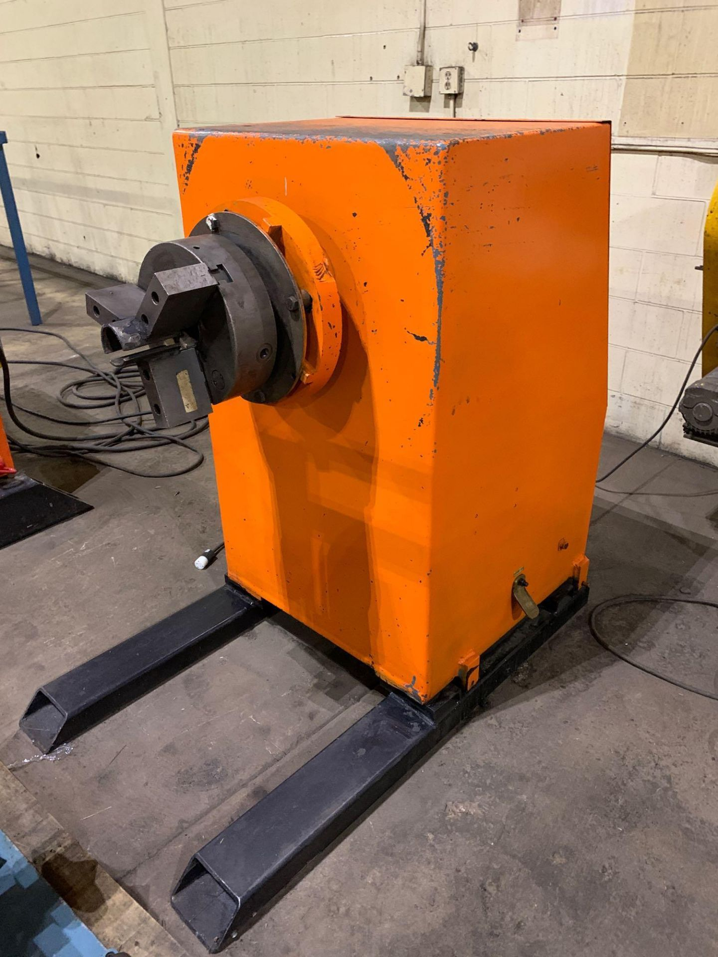 Jetline Welding Positioner Model CU5-216 Serial Number: 07625 Pipe Weld Positioner with Tail Stock I - Image 9 of 15