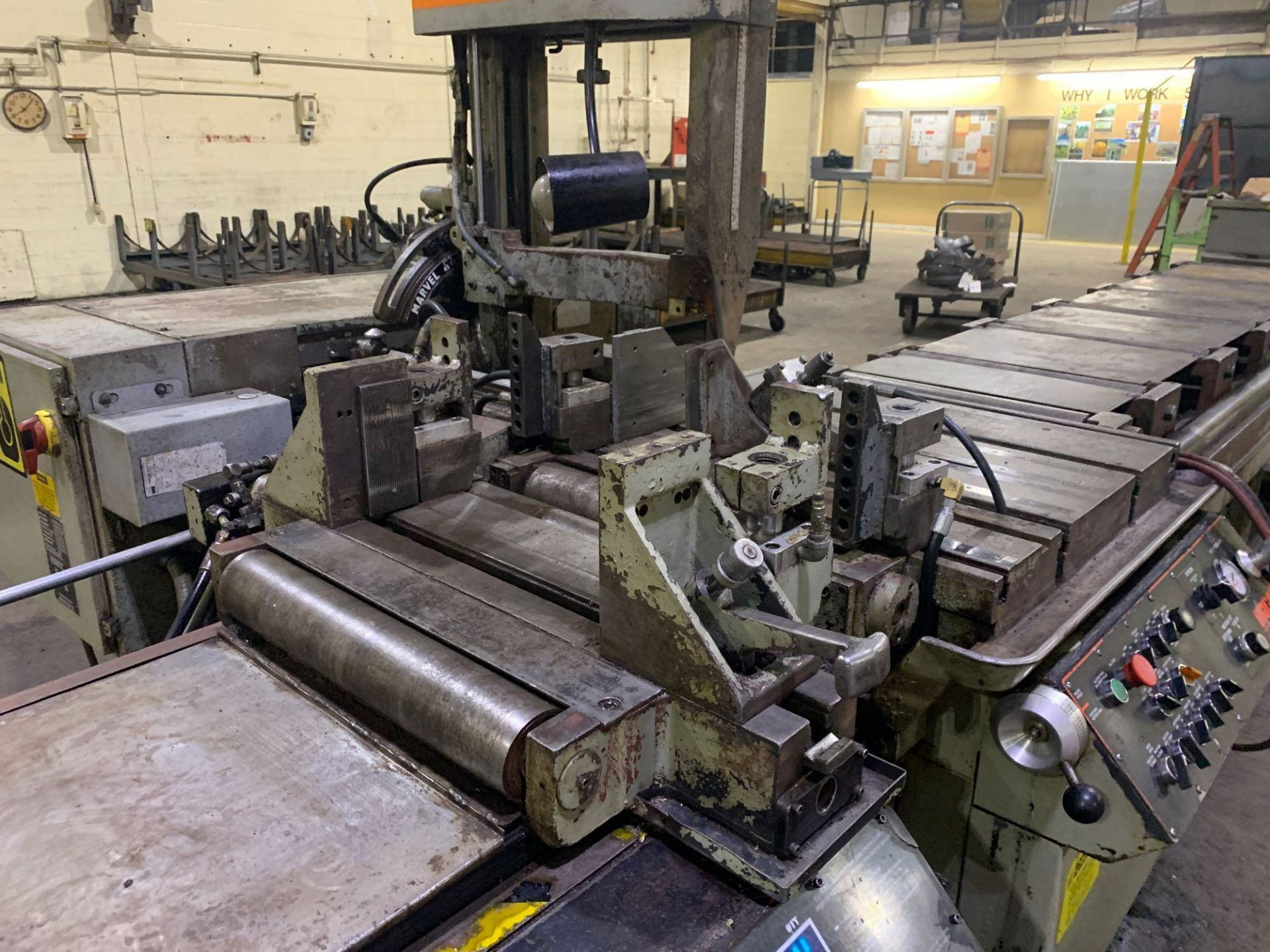 """Marvel Armstrong Blum Automatic Universal Band Saw Model 81A11PC Rated Capacity 18"""" x 20"""" Serial No. - Image 20 of 30"""