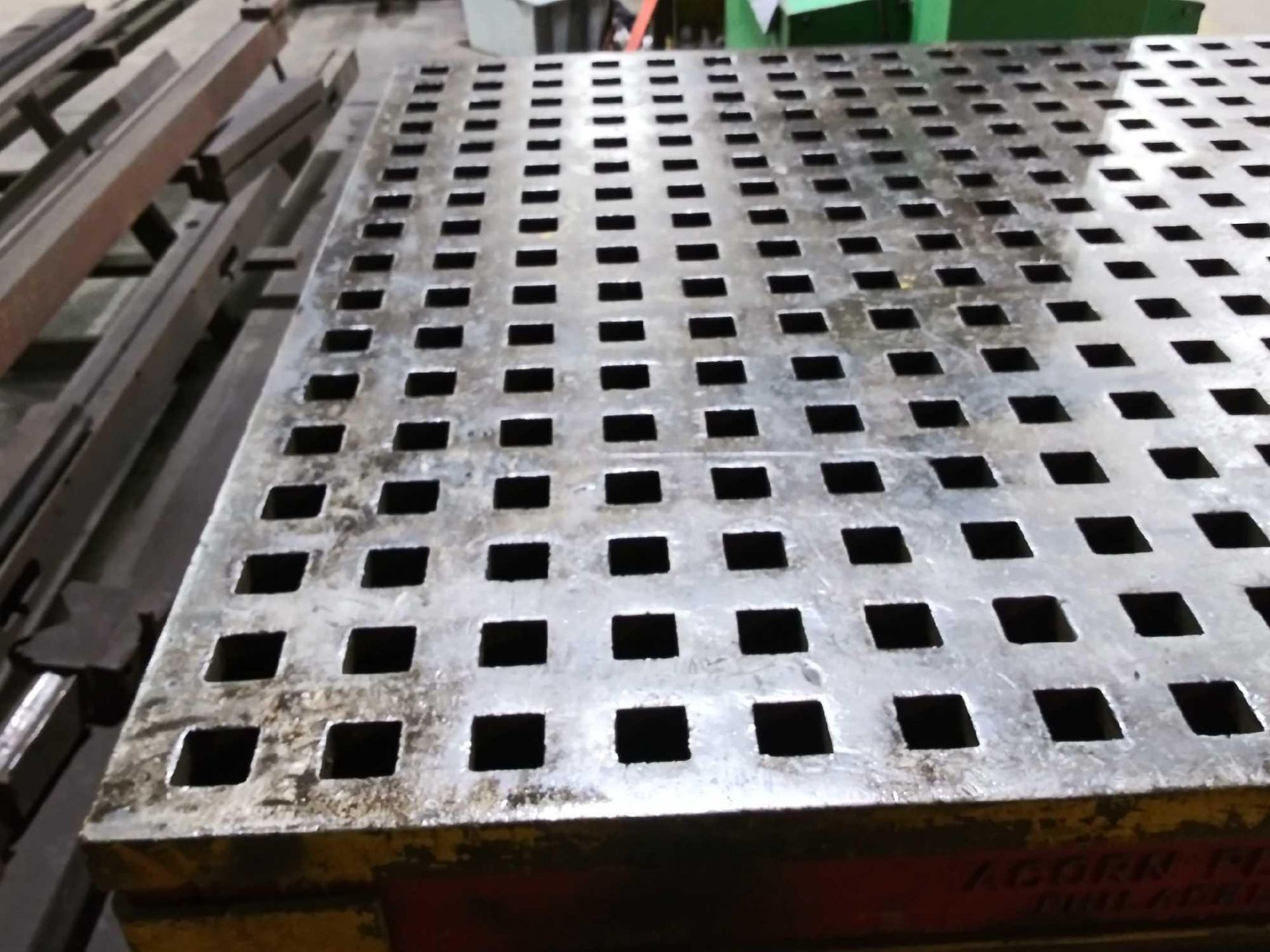 """Acorn Platens & Tools Welding Table, 60""""x60""""x30"""", square hole dimensions 1-3/4"""", inv1080 - Image 7 of 15"""